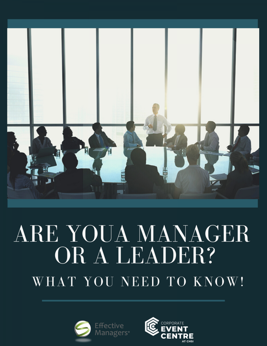 Are You A Manager Or A Leader?