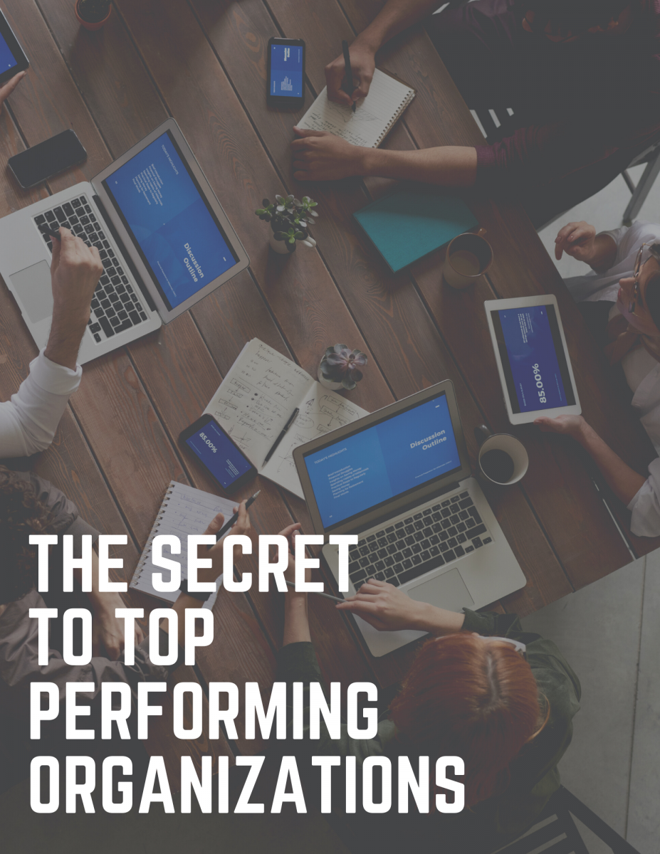 The Secret to Top Performing Organizations