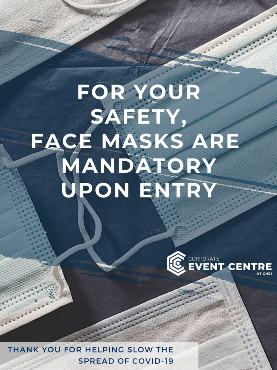 For Your Safety- Mandatory Face Masks